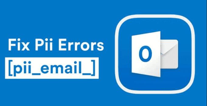 How to solve PII error